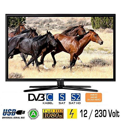 Reflexion LED247, LED Fernseher 24 Zoll 60 cm, DVB-S /S2, DVB-T /T2, DVB-C, USB, 230V +12Volt, Energieeffizienzklasse A