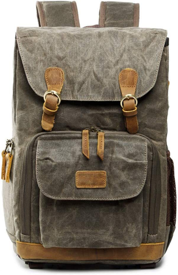 Outdoor Product//Fashion Bag Camera Bag Waterproof Shoulder Photography Waterproof Canvas Men and Women Shoulder Bag Camera Liner Suitable for Canon SLR Digital Package