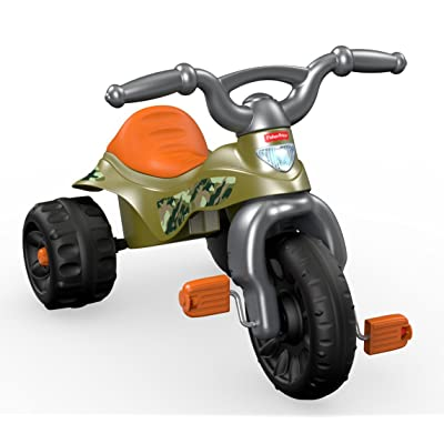 Fisher-Price Tough Trike, Camo: Toys & Games
