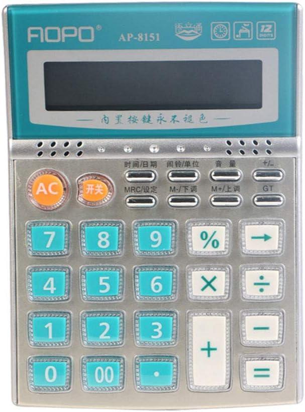 Mini Calculator, Calculadora de negocios oficina ordenador pantalla grande Finanzas de la caja registradora de la calculadora: Amazon.es: Oficina y papelería