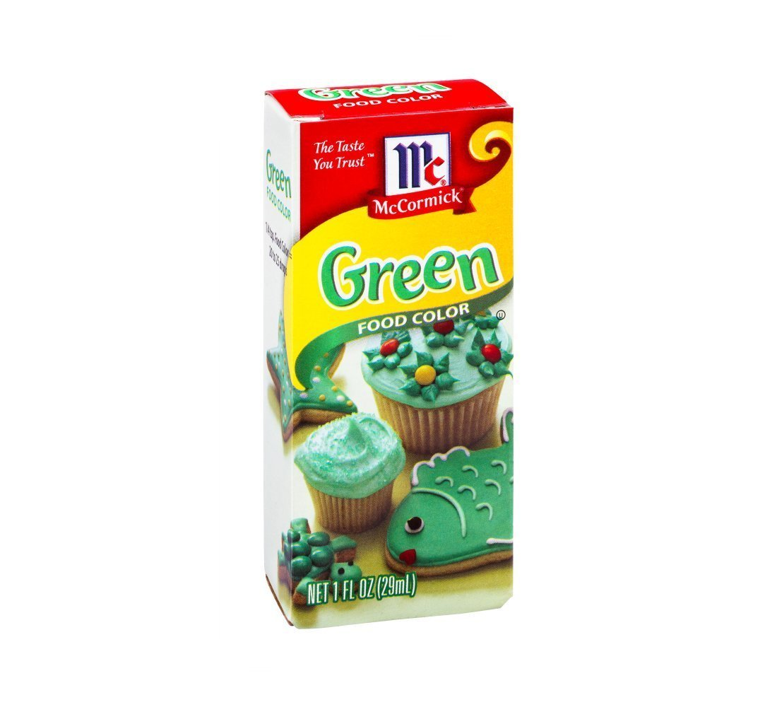 McCormick Green Color, 1 OZ (Pack of 6)