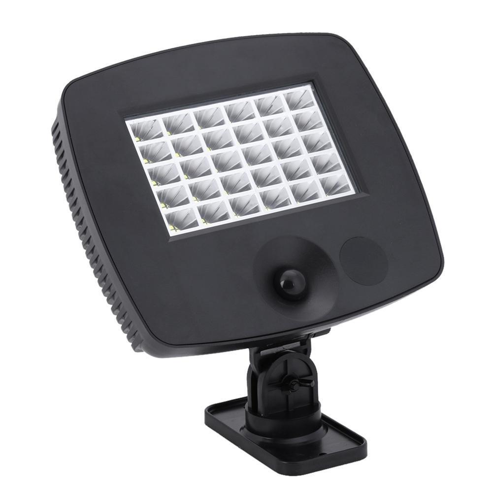 Vipeco 30 LED Solar Light Infrared Sensor Garden Light with PIR Motion Sensor