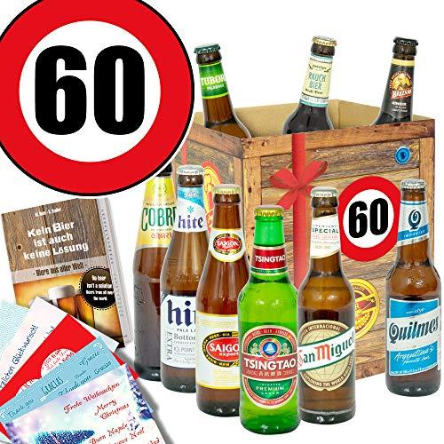 Geburtstagsgeschenk 60 Mann – Biergeschenke – Bier Geschenke Papa
