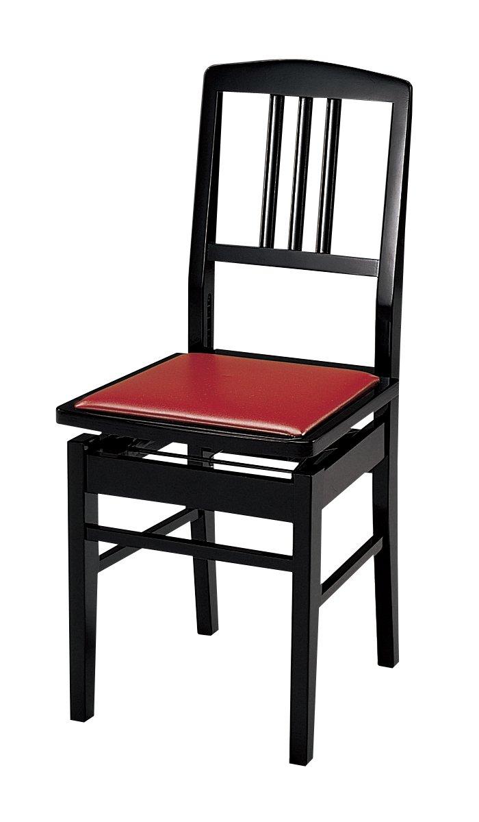アルプス ピアノベンチ ピアノベンチ 背もたれ付ピアノ椅子(高低自在タイプ)M-5 アルプス ブラックブラックB06XN6JD21, 古賀市:e004be3f --- publishingfarm.com