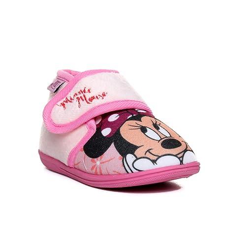 9fc8d4898e3 Cerdá Zapatillas de Casa Media Bota Minnie, Niñas