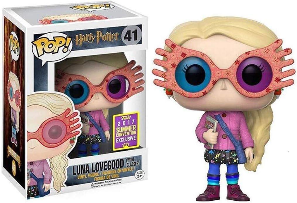 YYBB ¡Popular!Película Harry y el príncipe Mestizo Figura de acción de Luna Lovegood Colección Figuras Anime Regalos Juguetes 3,75 Pulgadas Figurines