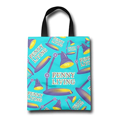Funny Living Fashion Tote Bags Large Capacity Eco Friendly Tote Bags Market Bags With Straps