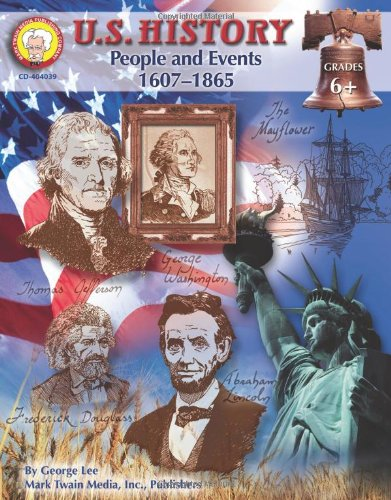 Price comparison product image U.S. History, Grades 6 - 8: People and Events: 1607-1865 (American History Series)