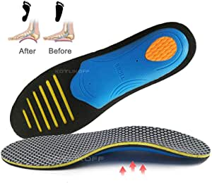 OLSZNDH 1 Pair Orthopedic Insoles Orthotics Flat Foot Sole Pad For Shoes Insert Arch Support Pad For Plantar Fasciitis Healthy Choice