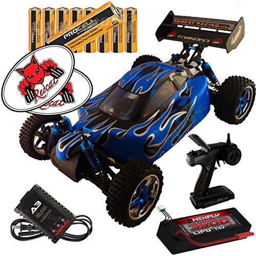 Redcat Racing Blue//Silver Tornado EPX PRO 1//10 Scale Brushless Buggy RTR