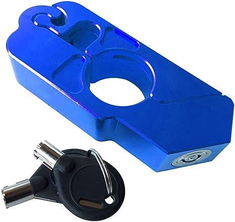 universale antifurto blocca manubrio per moto blocca il freno e la frizione della moto Rokoo in lega d/'alluminio