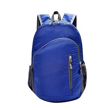 4584152f654f DEELIN Clearance Neutral Fashion Solid Color Lightweight Travel Swim Sport  Zipper Waterproof Nylon School Rucksack Bookbag