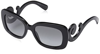 d878b6a2ad7f Amazon.com  Prada Women s Baroque Square Sunglasses