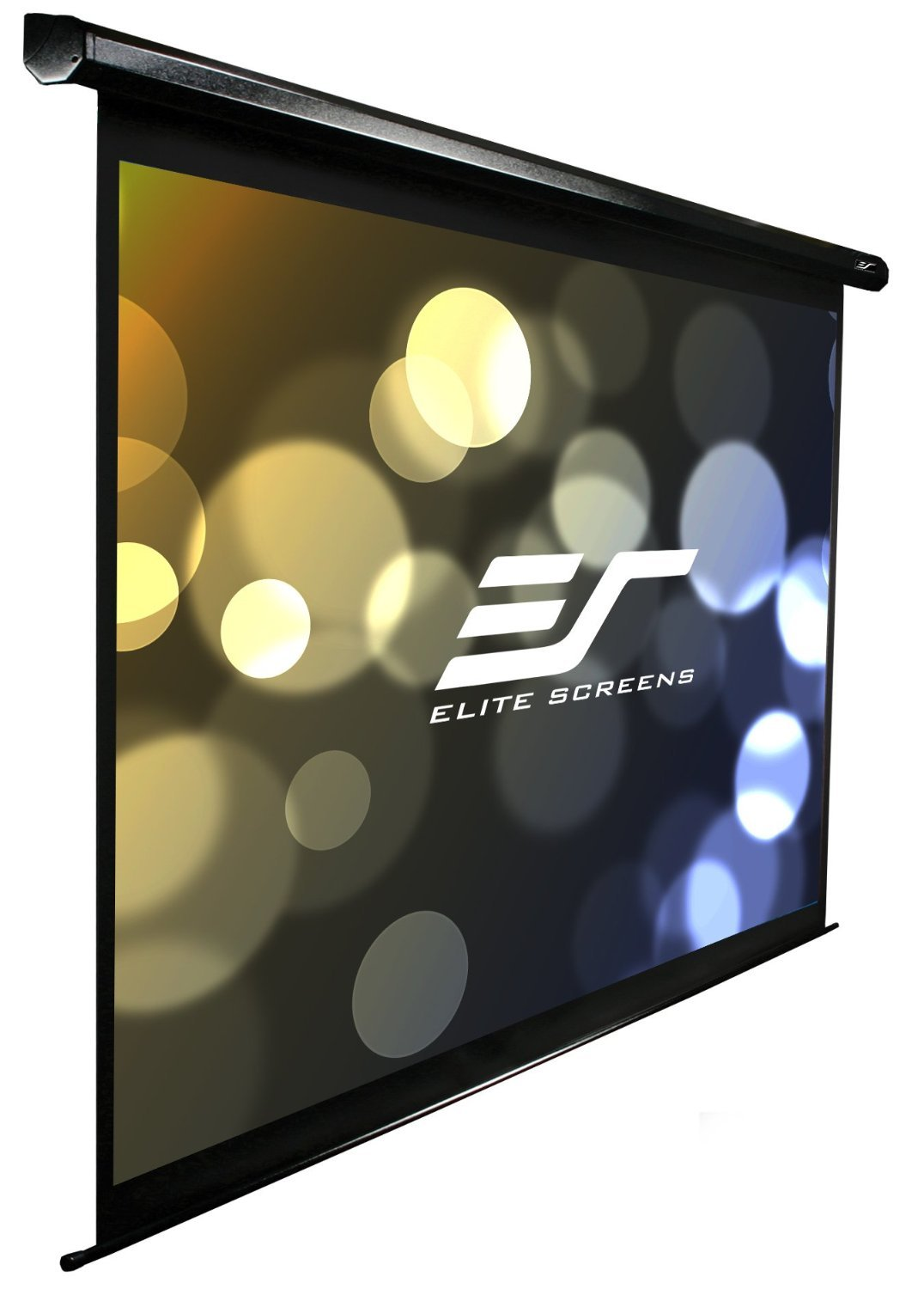 Elite Screens Electric100H Spectrum Ceiling/Wall Mount Electric Projection Screen (100'' 16:9 Aspect Ratio) (MaxWhite)