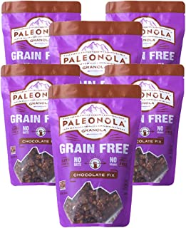 product image for Paleonola Chocolate Fix Grain Free Granola | Gluten Free, Non-GMO, Dairy Free, No Refined Sugars, 10 Oz Bags (6 Pack)
