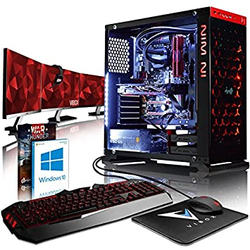 Vibox Armageddon Gl570 200 Gaming Pc Computer With Game Voucher Win
