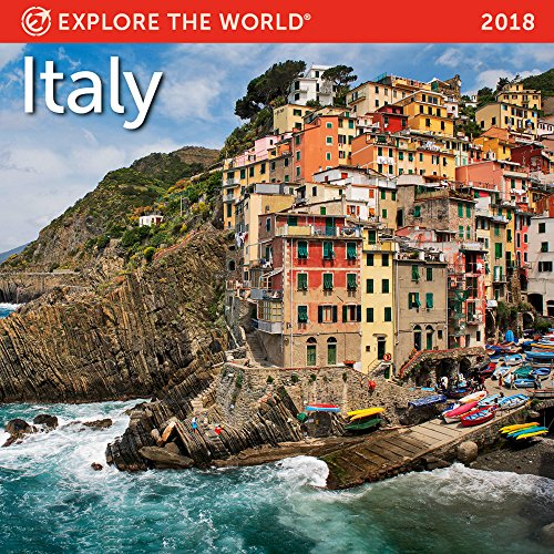 Italy Mini Wall Calendar 2018