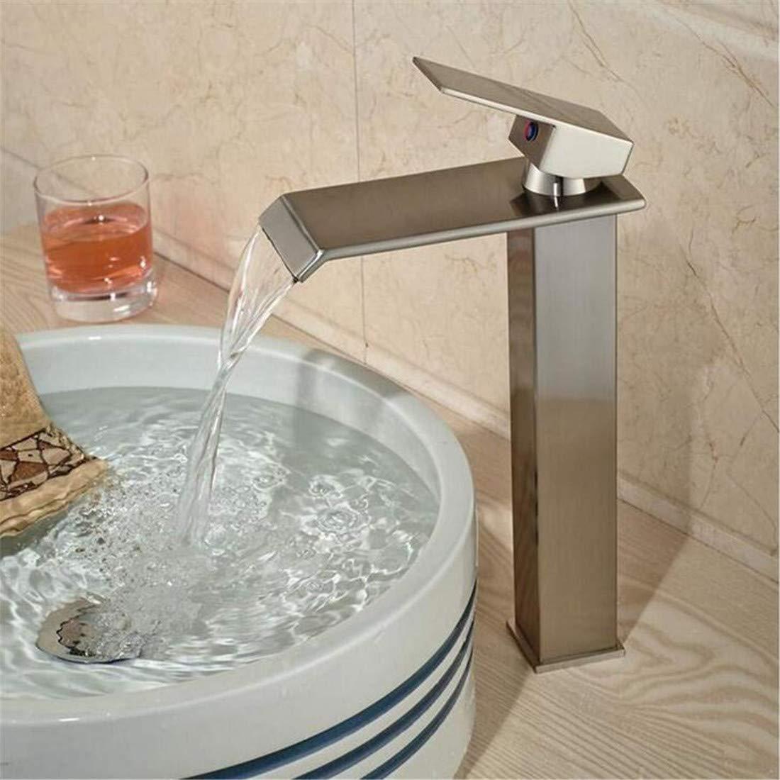 Kitchen Bath Basin Sink Bathroom Taps Washbasin Mixer Waterfall Single Handle Basin Faucet Ctzl2088