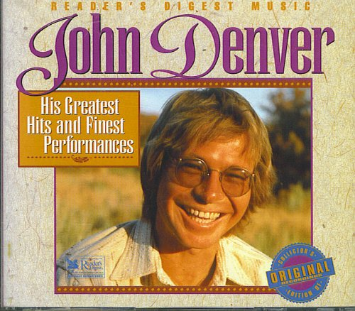 Reader's Digest: John Denver - His Greatest Hits and Finest Performances by AAD 23B