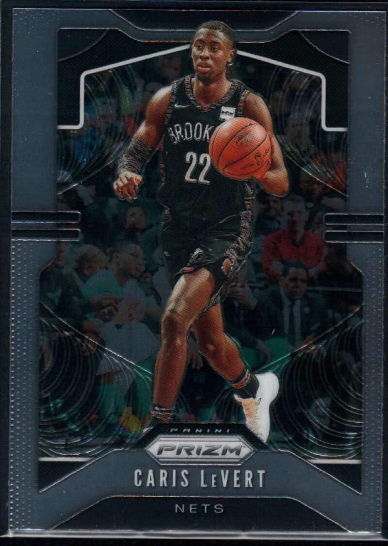 Amazon Com Basketball Nba 2019 20 Panini Prizm 50 Caris Levert Nets Collectibles Fine Art