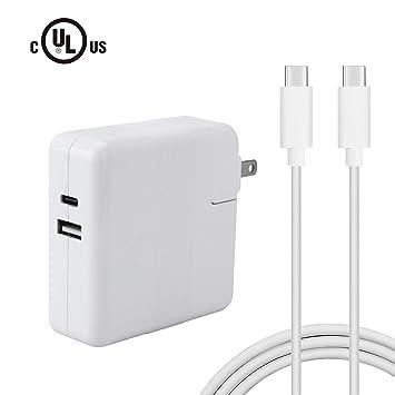 Amazon.com: DPSPOWER 61 W USB-C adaptador de alimentación ...