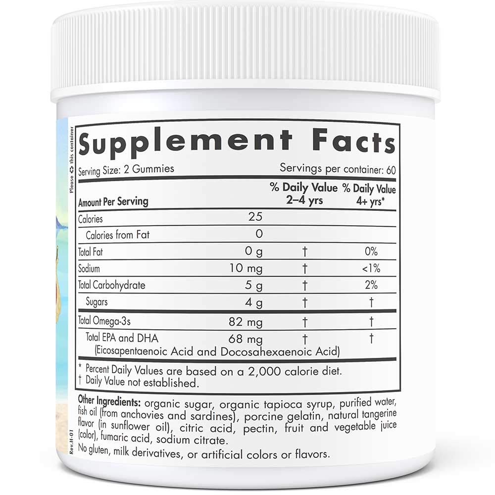 Nordic Naturals - Nordic Omega-3 Gummies, Supports Optimal Brain and Immune Function, 120 Count by Nordic Naturals (Image #2)