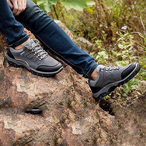 Fitnessschuhe Damen Herren Trailrunning Bild Sportschuhe Wanderschuhe Stoßdämpfung im Hersteller Sneakers Trekking Laufschuhe Schuhe Wasserfest Größentabelle Beachten Schuhe Grau Gracosy AfSqwnxtz