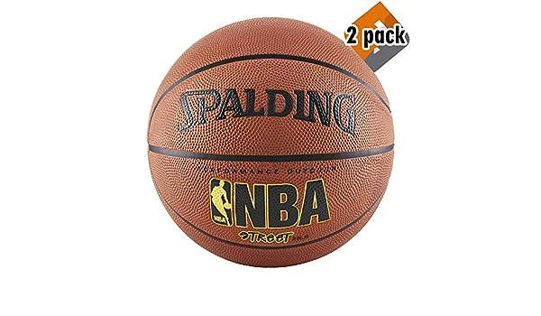 Spalding NBA Street Balón de Baloncesto - Tamaño Oficial 7 (29.5 ...