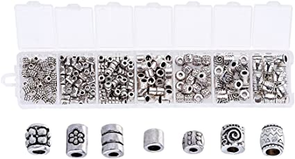 Silver flower 7mm bead elastic anklet various sizes lead nickel /& cadmium free