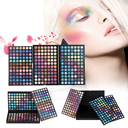 Professional 252 Color Matte Eyeshadow Ultimate Palette ColorStay Makeup Smoky Eye Shadow
