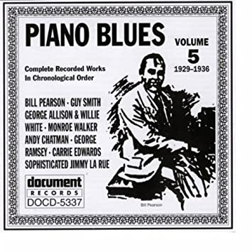 Piano Blues, Vol. 5 1929-1936