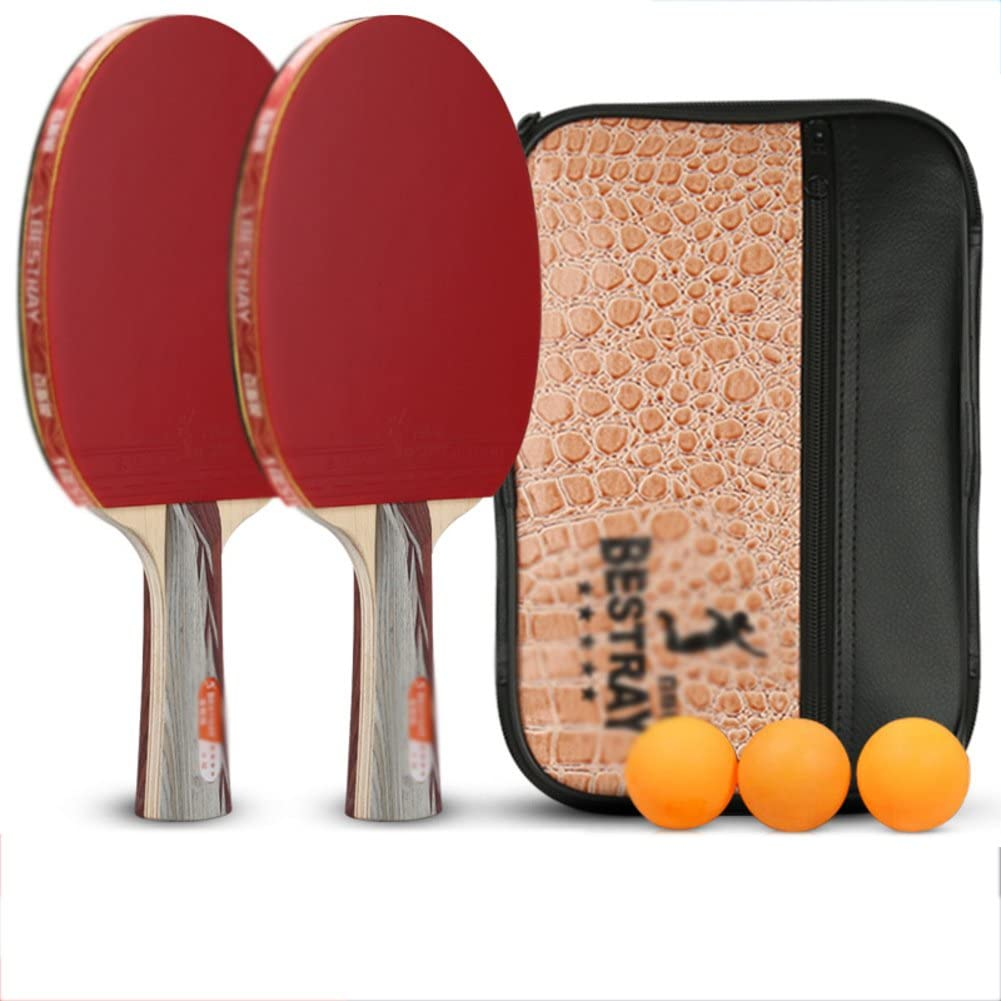 xianw 6 Estrellas Profesional Ping Pong Paleta avanzado la Raqueta ...