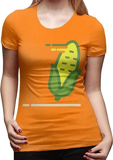 Classic Cotton Corn Vector - Camiseta básica de manga corta ...