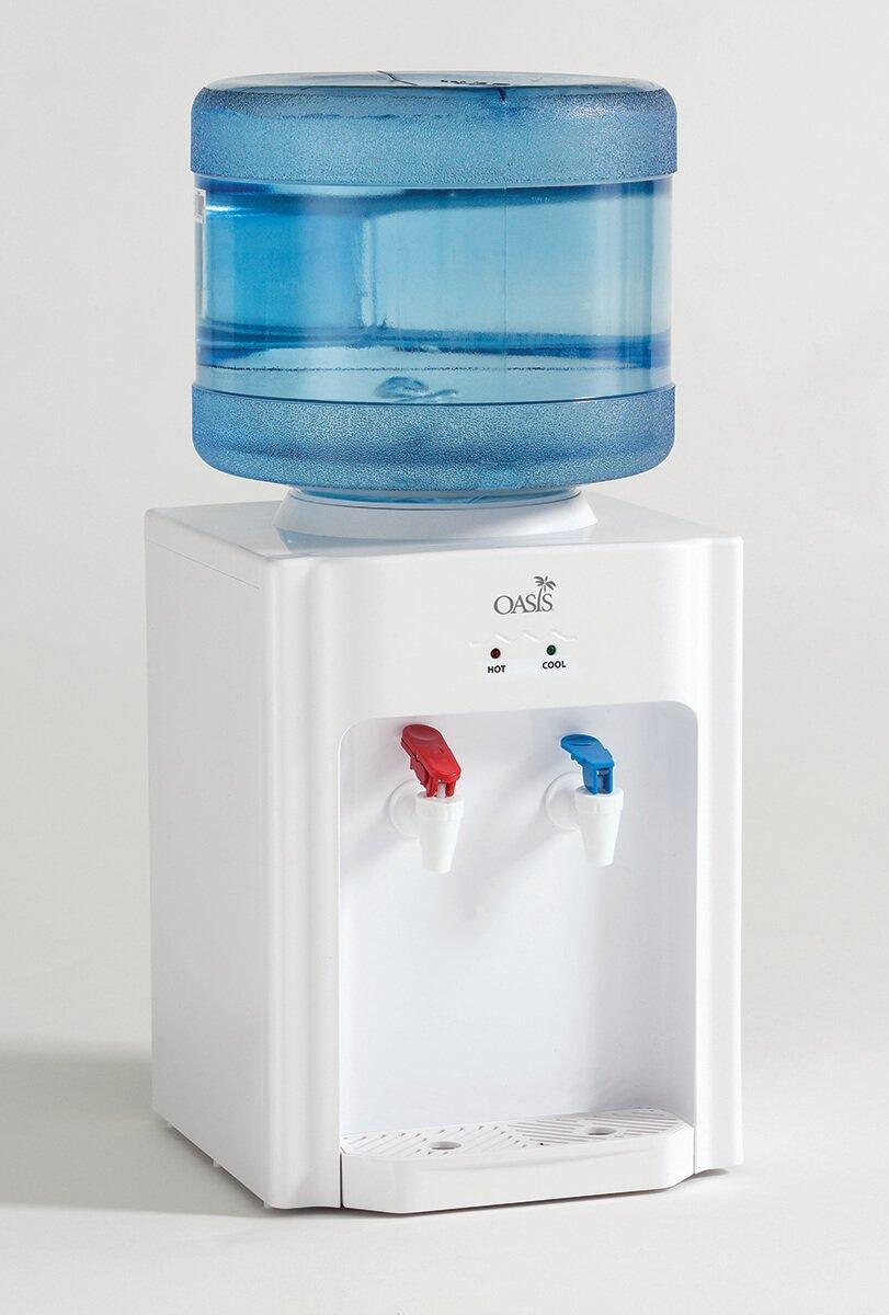 Oasis White Countertop Top Load Water Cooler, 504820C - BDT1162