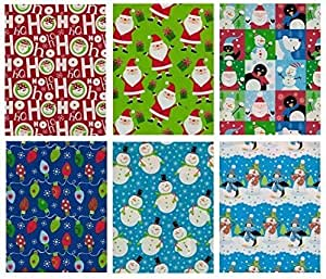 Christmas Gift Wrap Sets My Choice Finds  Christmas Wrapping Paper For Men