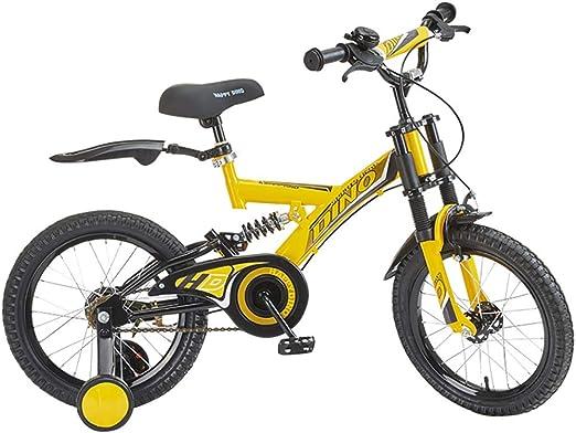 GAIQIN Durable Bicicleta de Bicicleta para niños 3-4-5-6-7 años ...