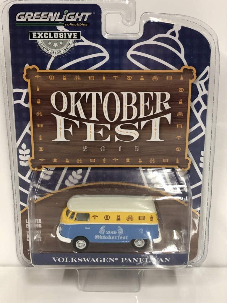 Volkswagen Panel Van Oktoberfest 2019Hobby Exclusive 1//64 Diecast Model by Greenlight 30045