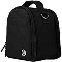 Vangoddy VGLaurelBLK Laurel DSLR Camera Case with Removable Shoulder Strap (Black)