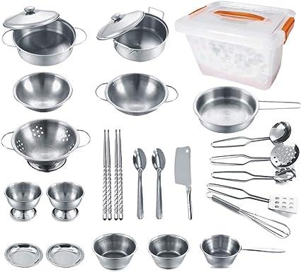 Amazon Com Kejih Cooking Utensils Set 25 Pieces Stainless Steel