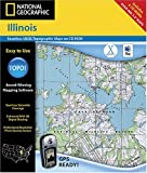 National Geographic TOPO! Illinois Map CD-ROM (Mac)