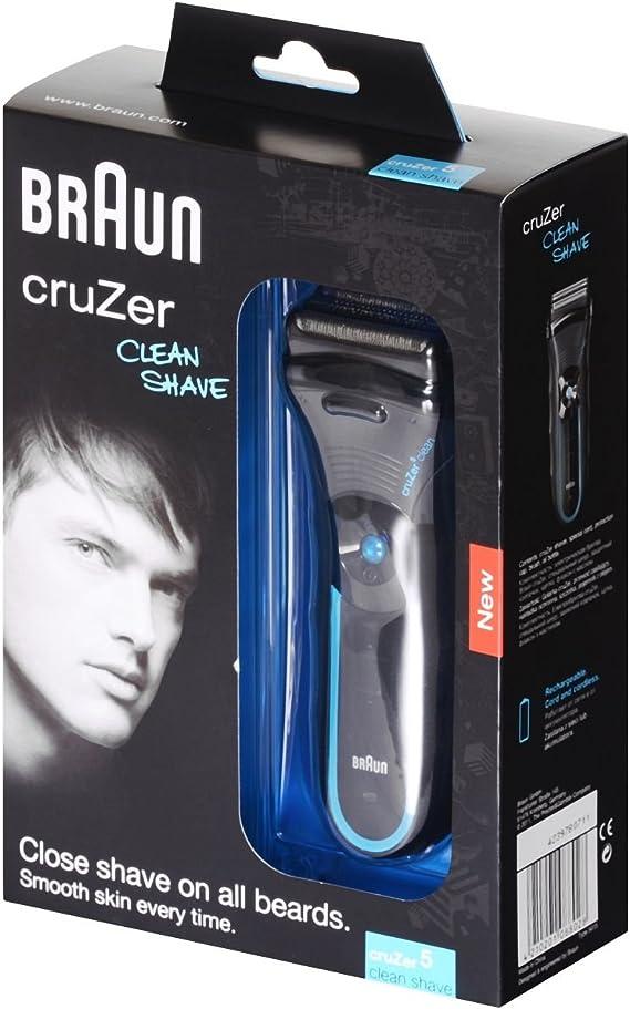 Braun 5415 pantalla afeitadora Cruzer 5 Clean Shave: Amazon.es ...