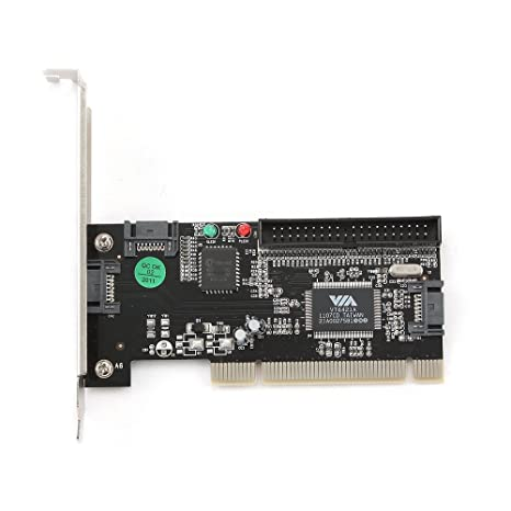 Gembird SATA-3 - Tarjeta PCI con 2X SATA IN, 1x SATA3 out y 1x IDE IN
