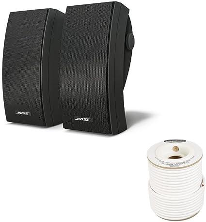 Pair White Bose 251 Environmental Speakers