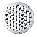 PolyPlanar 6'' 2-Way Coax-Integral Grill Marine Speaker - (Pair) White
