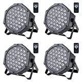 Stage Light Par Light 36x1W LED RGB 7 Channel with Remote for DJ KTV Disco Party