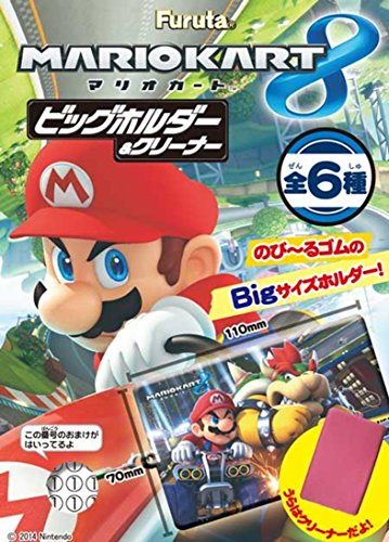 Mario Kart 8 Big holder & Cleaner 6 pcs BOX (Candy Toys &...