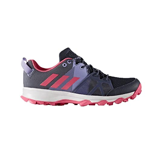 Adidas AW17 Kanadia 8.1 Junior Trail Running Shoes - Purple/Pink - UK 2.5