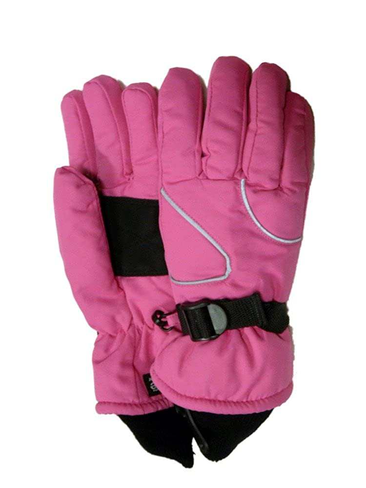 Aquarius Girls Pink Thinsulate Snow /& Ski Gloves