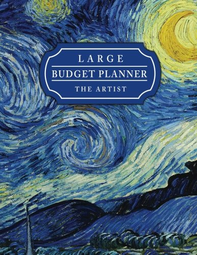 Download Large Budget Planner The Artist: Van Gogh Art Design (8.5x11 inches) : Expense tracker for 24 Months ebook