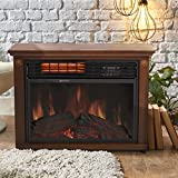 zwave space heater - Fireplace Electric Heater 1500 Watt Free Standing With Remote In Modern Design